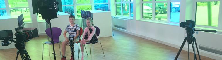 Longhill School filming HEY KIDS diabetes
