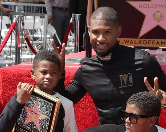Usher son T1D